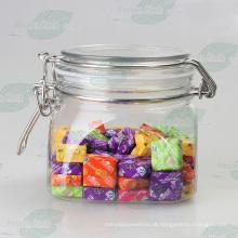 160z pet frasco recipiente de plástico para embalagem de doces (PPC-57)