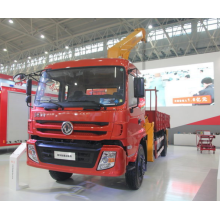 Grue mobile de camion de châssis de Dongfeng 8 tonnes