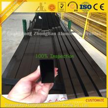 Profil en aluminium de revêtement de poudre pour des portes en aluminium