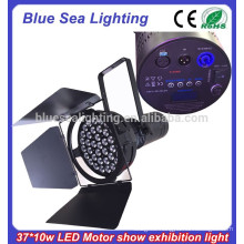 2015 new 37x10w led high power motor show lightings