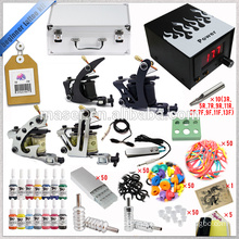 Professional Complete Tattoo Kit, 4 Gun Tattoo Kit