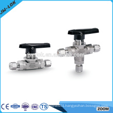 Manufacturer of high pressure 3 way ball valves