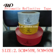 Cinta reflectante de alta intensidad ECE 104 R, cinta reflectante prismática