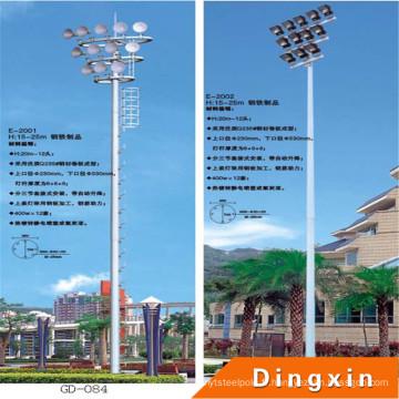 Poteau d'éclairage élevé de mât de stade de sports de 20m avec l'échelle artificielle