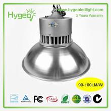 Lâmpada alta do farol do diodo emissor de luz das lâmpadas altas da baía elevada 50W 3 anos de garantia