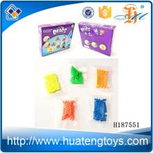 H187551 Los NUEVOS juguetes shantou hicieron los kits diy riegos plásticos del relleno de los granos del agua de los cabritos baratos para la venta