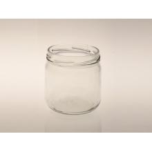 Confiture de confiture en verre à la grasse personnalisée / bouteille de sauce tomate
