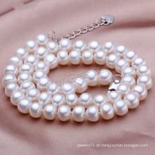 Gets.com 2015 moda de água doce real barroco colar de pérolas colares
