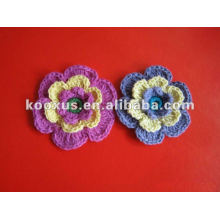 decorative new design crochet wool flower