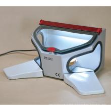 Em-Bx1 Dental Sandblaster Cabinet (wooden arm rests)