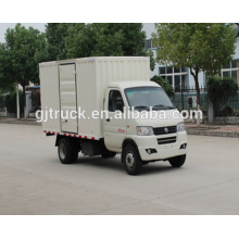 Dongfeng brand 4X2 drive van truck for 6-18 cubic meter