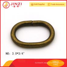 Cheap price custom oval iron anti-brass rings