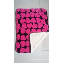 Супер мягкий 100% полиэстер с надписью Шерпа Флис Бросок / Звездное одеяло