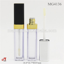 Quadratische leere kosmetische benutzerdefinierte Lipgloss Verpackung