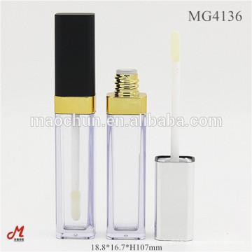 Emballage en mousse à lèvres personnalisé carré et vide