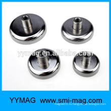 Потайной магнит неодима с внутренней резьбой