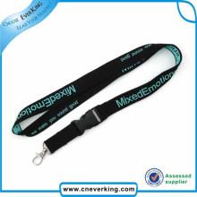 Material de poliéster cordones tejidos personalizados