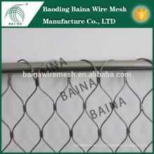 Забор из нержавеющей стали / канатная сетка