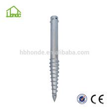 Feuerverzinkter Stahl Q235 für Fene Bodenschraube