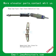 elevator pigtail taper sleeve combination elevator Wedge Type pigtail taper sleeve combination C Type