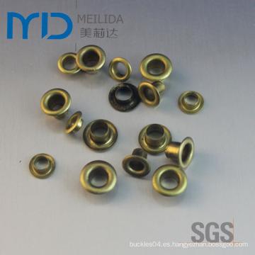 Ojetes de metal de alta calidad para los zapatos Bolsos de cuero