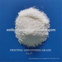 Viscosidad media Grado textil CMC de sodio