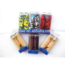 Alavanca de bicicleta Alça de alumínio com trava de alumínio EVA Espuma de agasalhos flexíveis 22.2 Alça Fixa Engrenagem Bike Camouflage de moda Pega do guiador