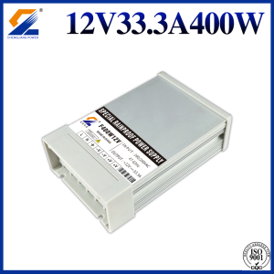 Rainproof Transformer 12V 400W for LED Strip