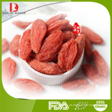 China alta calidad orgánica goji bayas / wolfberry / níspero / venta al por mayor lycium