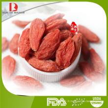 Vente en gros haute qualité classique lycium barbarum ruthenicum murr / goji berries prix