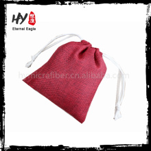 Professional cotton linen pouch bags made in China