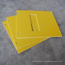Corte 3240 amarelo da folha da isolação da fibra de vidro da cola Epoxy