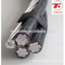 0.6/1KV Low Voltage Aerial Bundle Cable Street Lighting cable