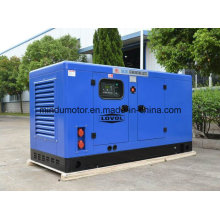Low Fuel Consumption 80kw Lovol Diesel Generator