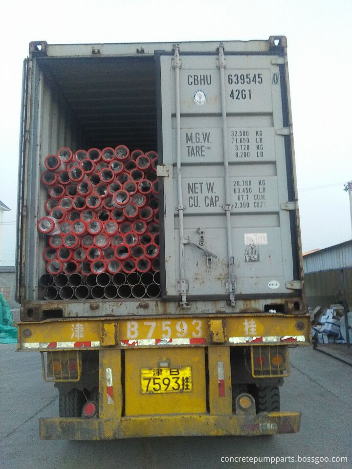 Pipe Container Loading Pictures