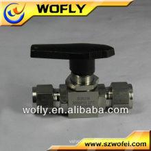 3 -way spring return cupvc& pvc threaded ball valve