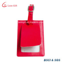 Custom Square Design Double Layer PU Luggage Tag
