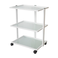 3-Tier Rolling Trolley for Salon