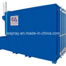 Sistema de forno de limpeza industrial para peças metálicas