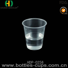 Diposable Cold Plastic Cup with Lid, 16oz for Drinking