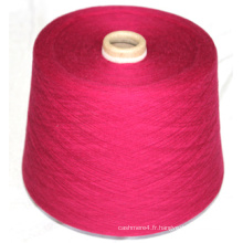 Filer le tissu de tapis / le tricot de textile de crochet / laine de yak / fil de laine de moutons du Tibet