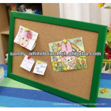 "1"" thick cork board cork board with photo frame"