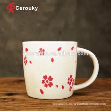 Taza de café de cerámica de la taza de la leche de la seguridad de los alimentos y de las bebidas