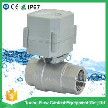"2016 OEM 3/8"" 1"" 2 Inch Ball Valve Stainless Steel Electric Water 230V"