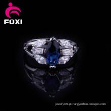 Fábrica por atacado de moda design de anéis de pedras preciosas