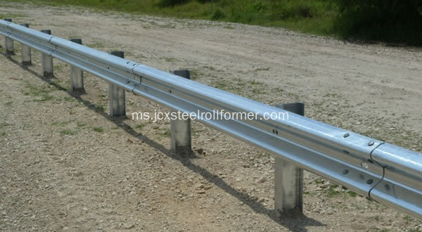 Rolling barrier highway roll membentuk mesin