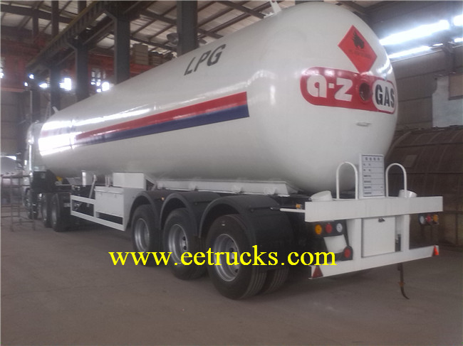 LPG Semi Trailer Tanks