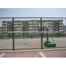 cheap Plastic coating Expanded Metal Fence factory with ten years history