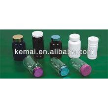 Botella de plástico para la cápsula