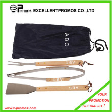Promotion BBQ Tools Set with Wood Handle (EP-B1252)